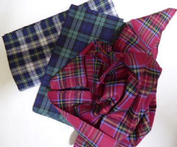 Tartan Handkerchief H5717T